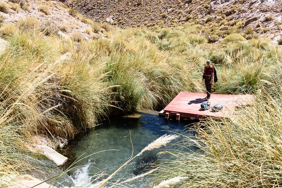 Thermas de Puritama - thermische baden in een riviertje